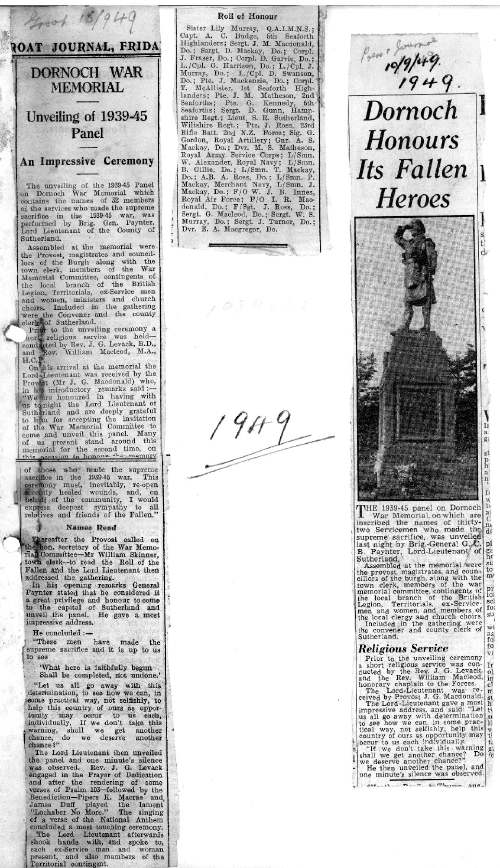 British Legion Correspondence