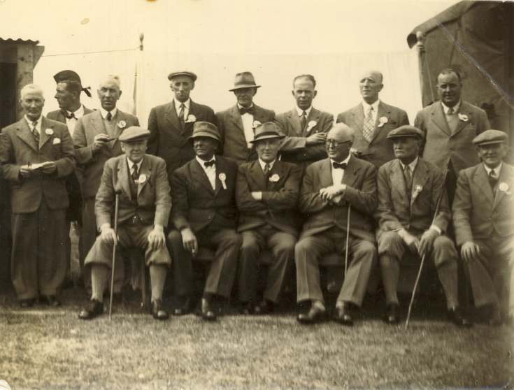 Photograph of a group at the Sutherland Show