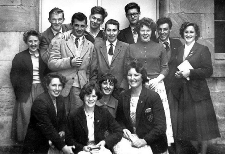 Dornoch Academy 6th year pupils 1959