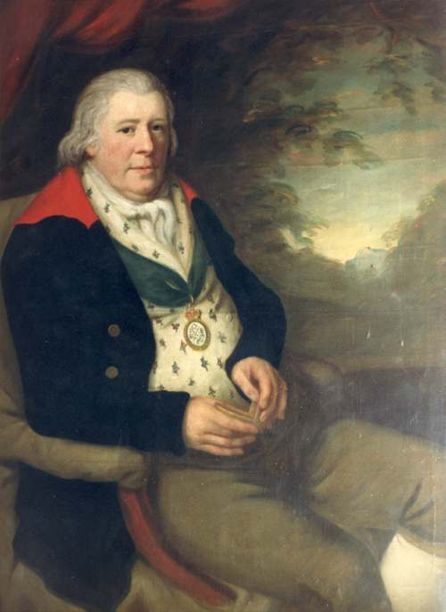 Portrait of George Dempster