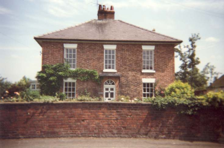 Miss Lyon's house in Overton
