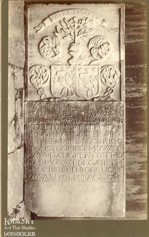Shetland gravestone