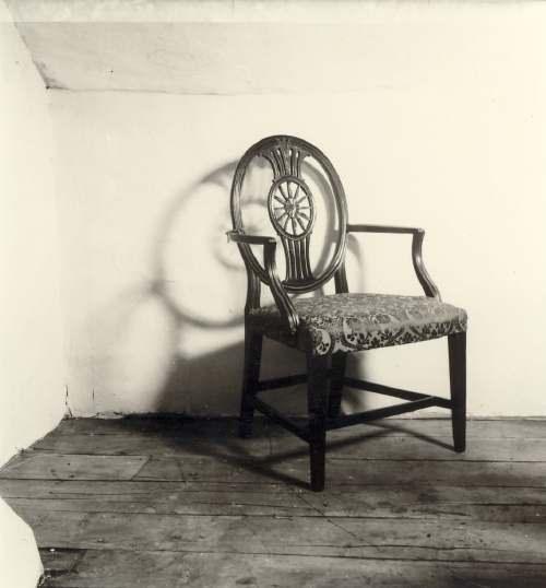 Wheelback chair