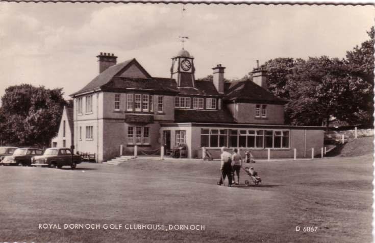 Royal Dornoch Golf Clubhouse