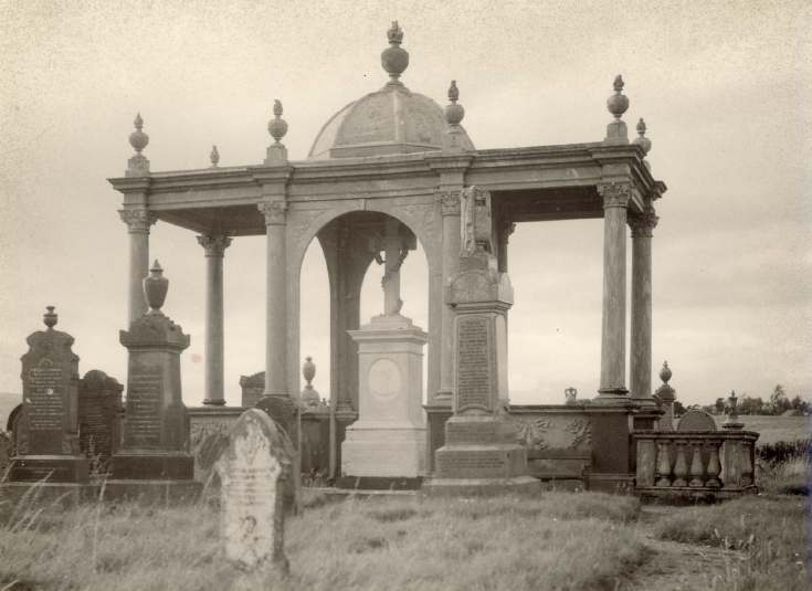 Sir James Matheson's tomb