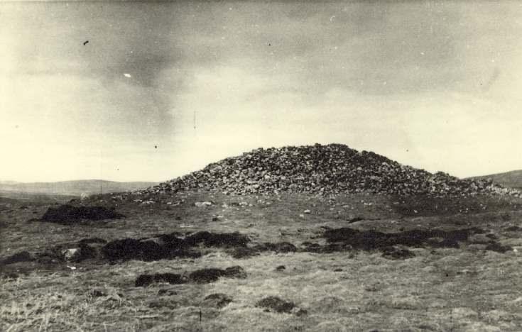 North Highland landscape - a cairn