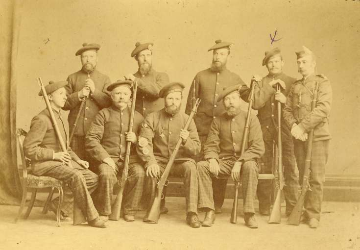 Winners of the Bannockburn Challenge Shield 1883