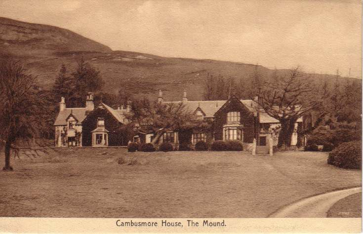 Cambusmore House, The Mound