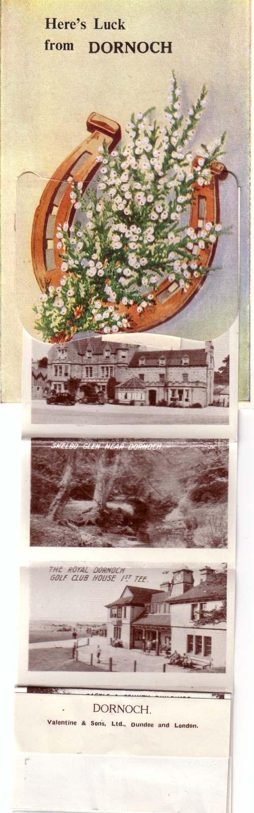 Novelty postcard