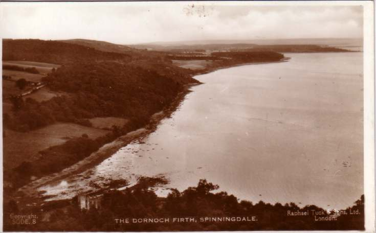 The Dornoch Firth from Spinningdale