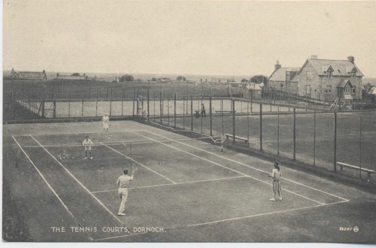 Tennis Courts near Golf Club