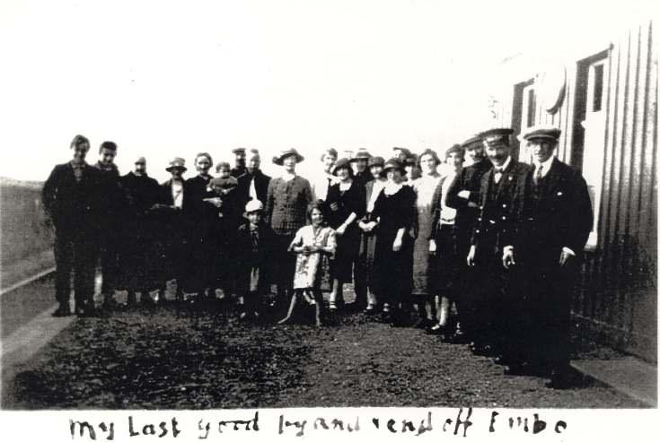 Group at Embo Station