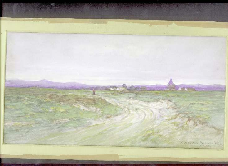 Watercolour of Dornoch