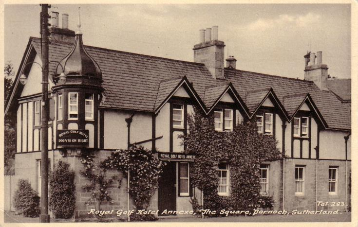 Royal Golf Hotel Annexe, The Square, Dornoch