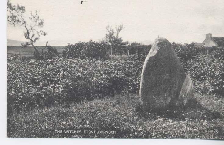 Witch's Stone, Dornoch