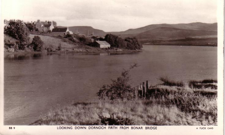 Dornoch Firth from Bonar Bridge