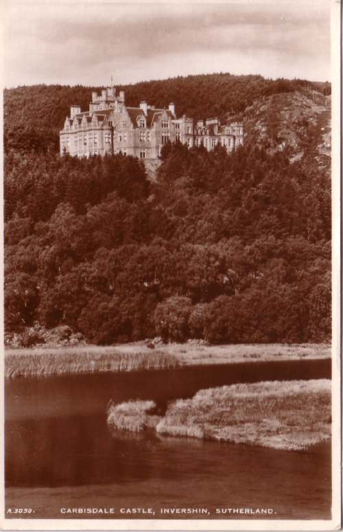 Carbisdale Castle, Invershin