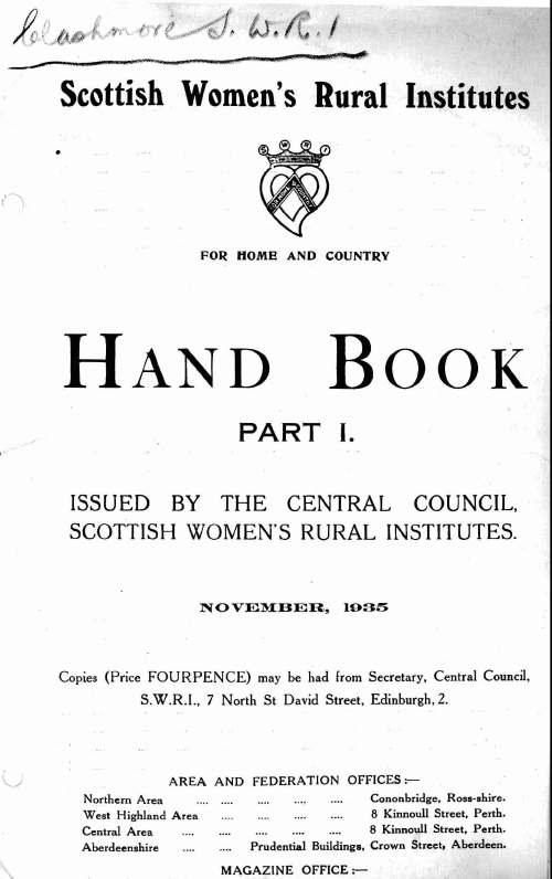 SWRI Handbook