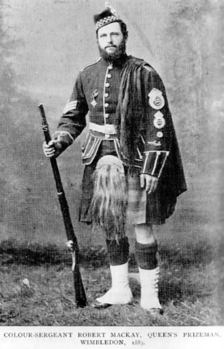 Colour-Sergeant Robert Mackay 1883