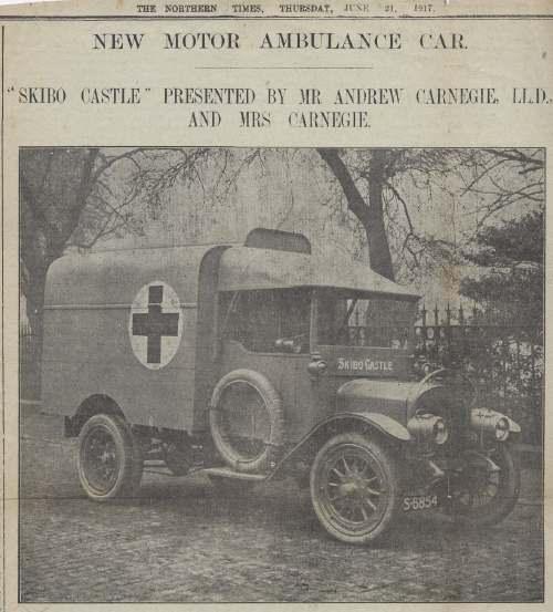 New Motor Ambulance Car