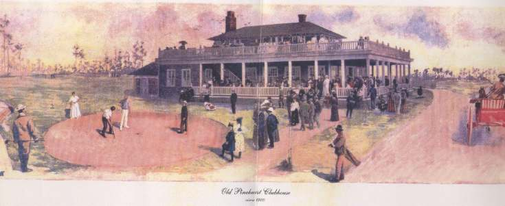 Old Pinehurst Clubhouse