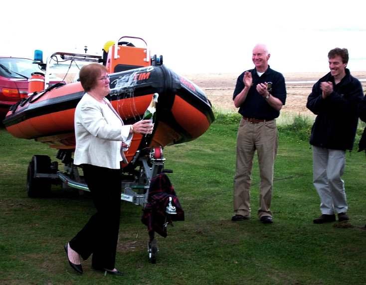 Embo Lifeboat Dedication