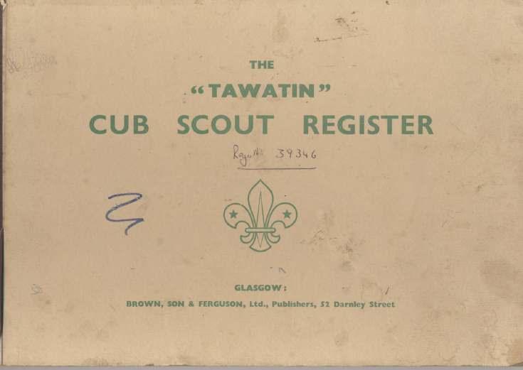 Dornoch Cub Scout Register