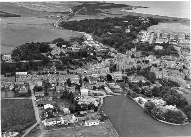 Aerial view of Dornoch 1979