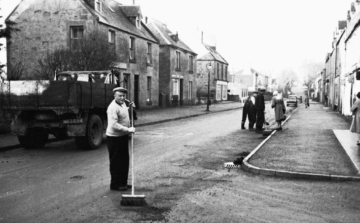 Murdo Macpherson in Castle Street
