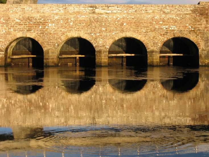 Mound Fleet Bridge and defences