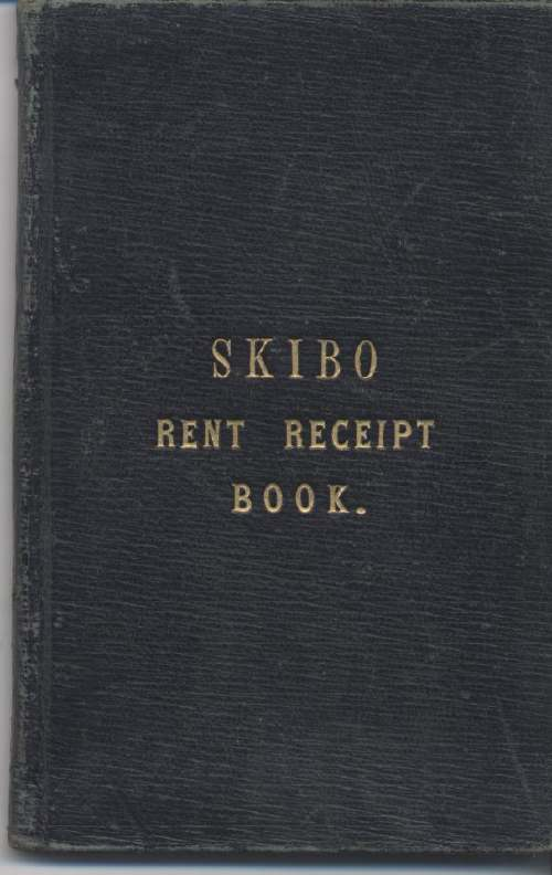 Skibo Rent Receipt  Book