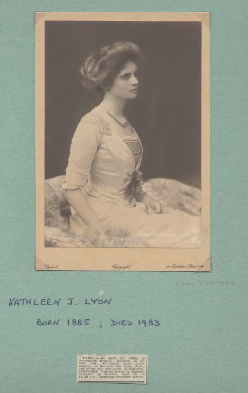 The Photography of Kathleen Lyon