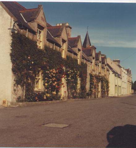 The Photography of Kathleen Lyon - St Gilbert Street, Dornoch