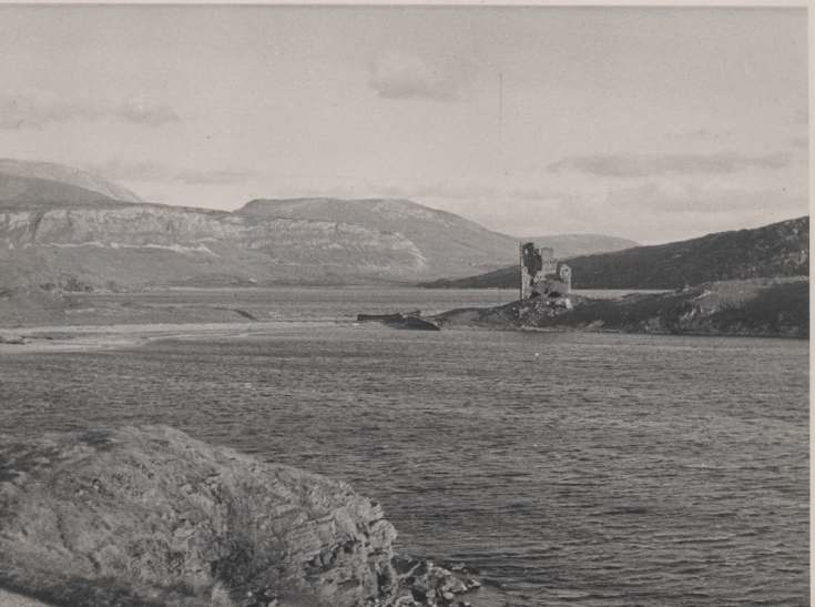 The Photography of Kathleen Lyon - Ardvreck Castle, Assynt