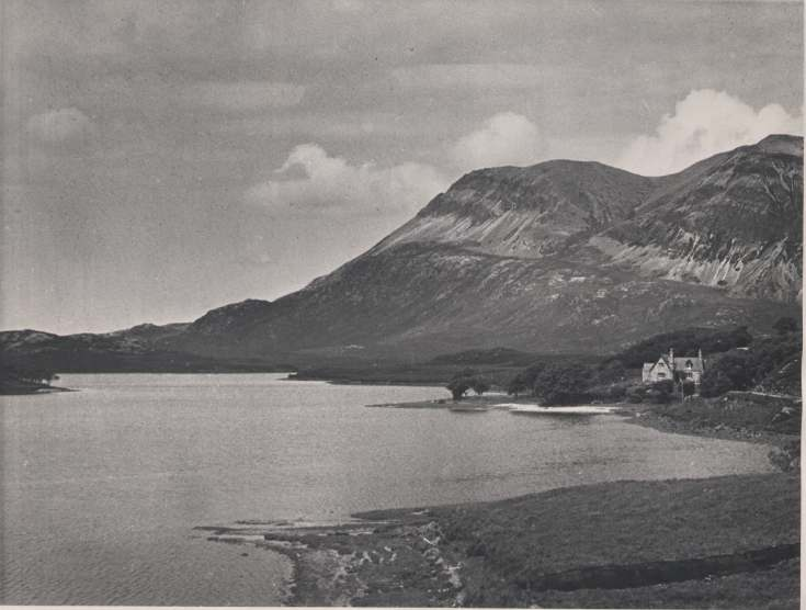 The Photography of Kathleen Lyon - Ben Arkle and Loch Stack