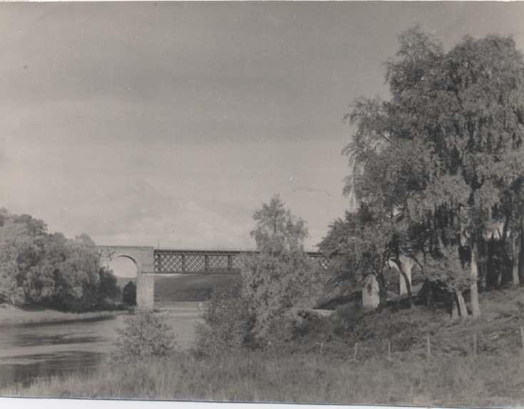 The Photography of Kathleen Lyon - Invershin railway bridge