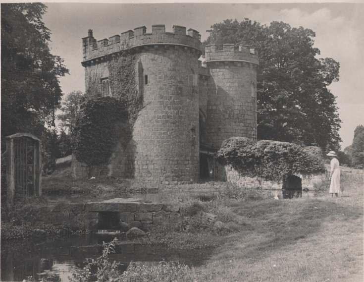 The Photography of Kathleen Lyon - Whittington Castle