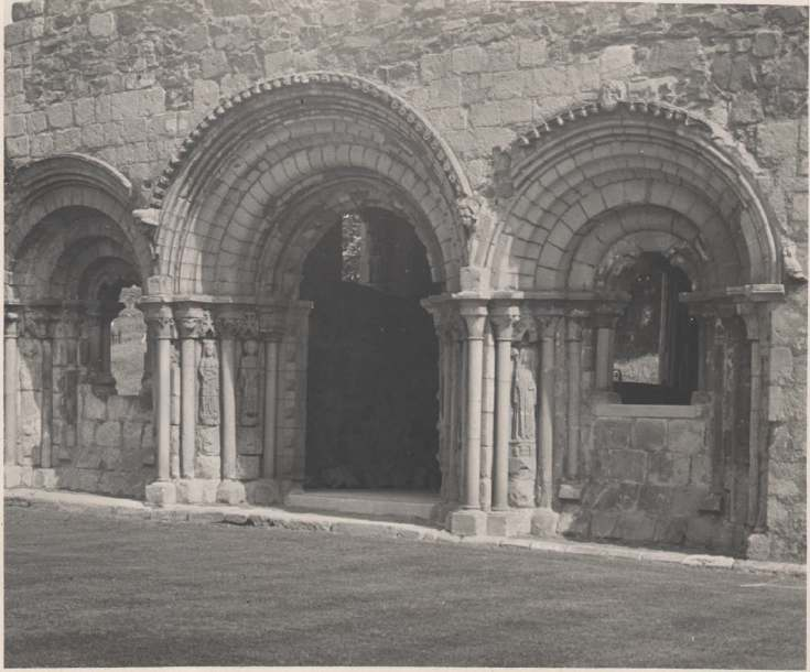 The Photography of Kathleen Lyon Haughmond Abbey Shropshire