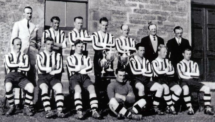 Dornoch Football Tean 1930's