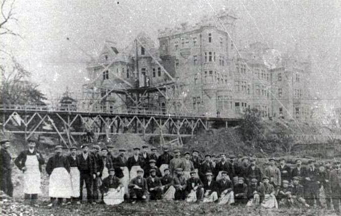 The rebuilding of Skibo Castle