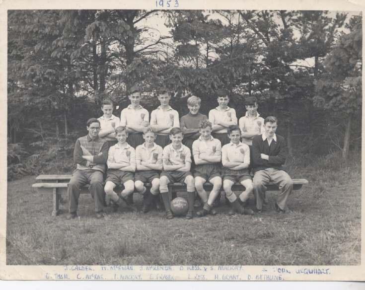Dornoch Boys Football Team