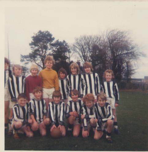 Dornoch Boys Football Team 1974