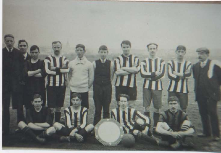 Dornoch  Football Team early 1900s