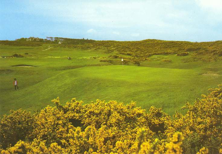 Furness Postcard Collection - Golf course Dornoch