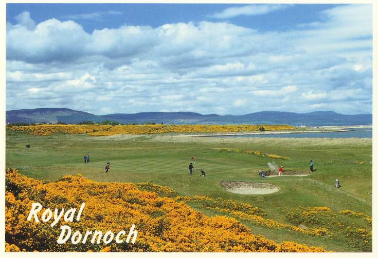 Furness Postcard Collection - Golf course Dornoch