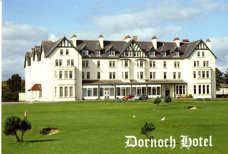 Furness Postcard Collection -  Dornoch Hotel