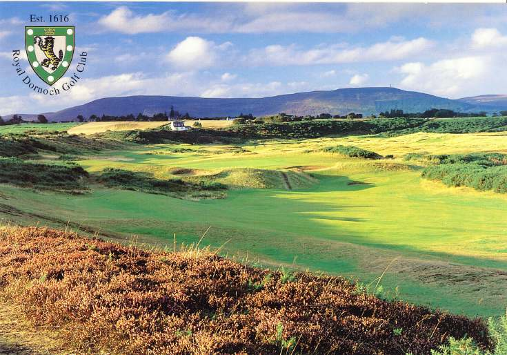 Furness Postcard Collection -  Royal Dornoch Golf Club