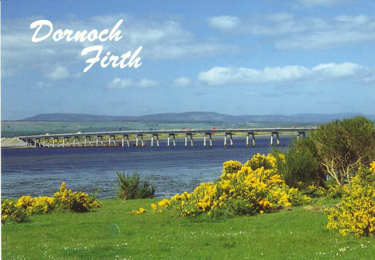 Furness Postcard Collection -  Dornoch Firth
