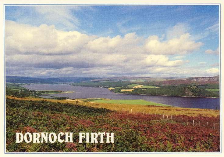 Furness Postcard Collection -   Dornoch Firth