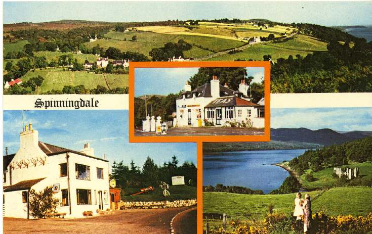 Furness Postcard Collection -   Spinningdale